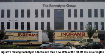 Ingram's moving Bannatyne Fitness into their new state of the art offices - Darlington