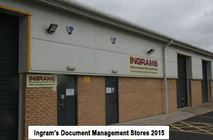 Ingrams specialised Document Storage and Archive Stoage facilities